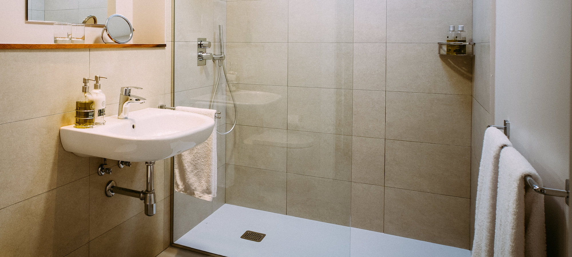el gran sueño terraza habitación baño