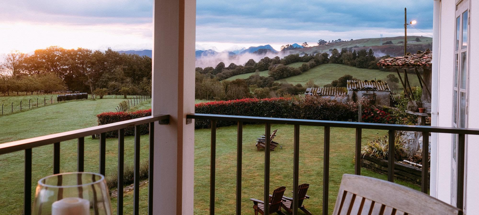 el gran sueño terraza bedroom view