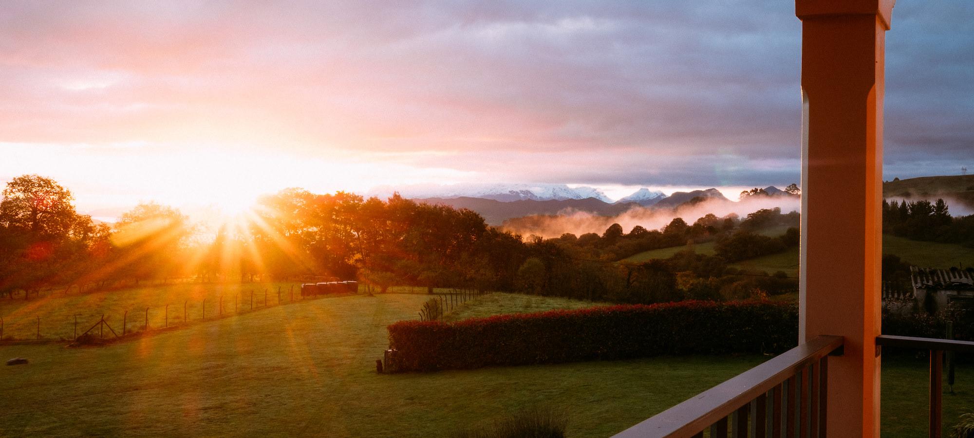 el gran sueño terraza bedroom sunrise