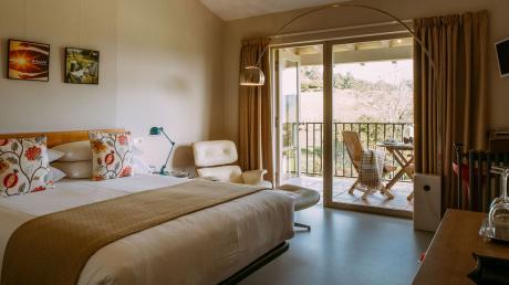 el gran sueño terraza habitación