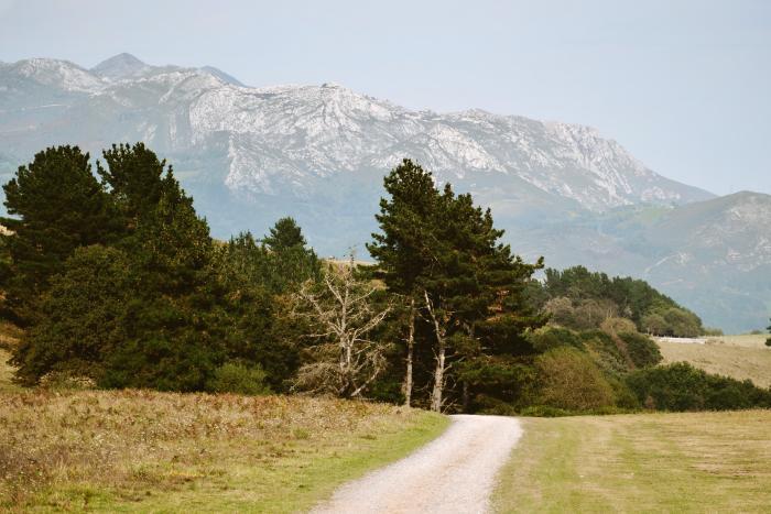 Sierra del Sueve desde el Monte Cayón