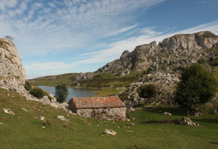 Los lagos de covadonga Asturias