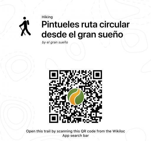 Wikiloc Route QR Code