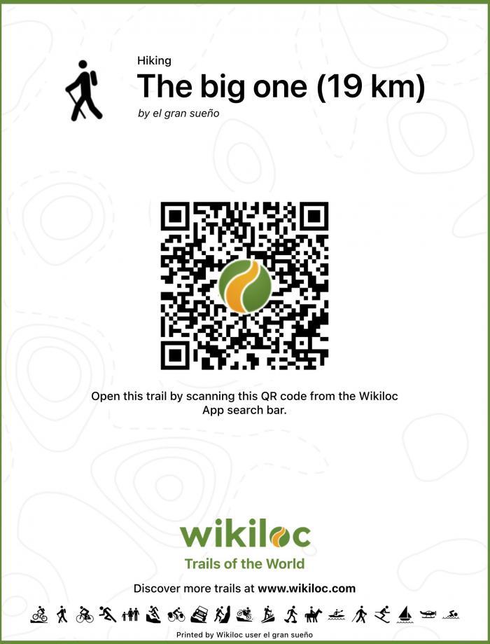 Ruta 7 Wikiloc Código de QR