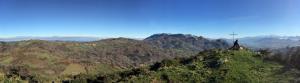 Vista desde lo alto del Pico Viyao
