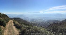 Down from Pico Viyao